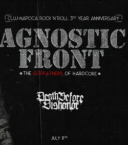 Agnostic Front [us], Death Before Dishonor [us] at /FORM Space pe 8 iulie