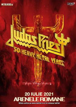Judas Priest la Bucuresti pe 20 Iulie 2021