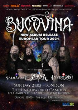 Bucovina Album release show - LONDON pe 21 februarie 2021