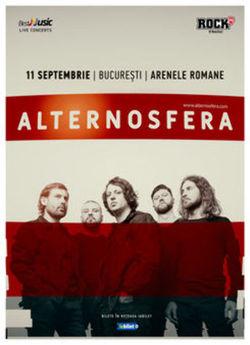 Concert Alternosfera la Arenele Romane pe 11 septembrie
