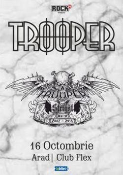 Arad: Concert Trooper - Strigat (Best of 2002-2019) pe 16 octombrie