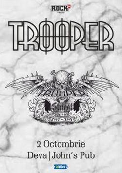 Deva: Concert Trooper - Strigat (Best of 2002-2019) pe 2 octombrie