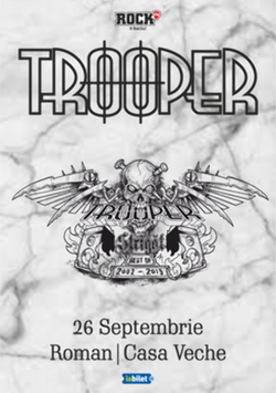Roman: Concert Trooper - Strigat (Best of 2002-2019) pe 26 septembrie