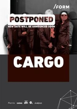 Cargo cant la /FORM Space pe 24 octombrie