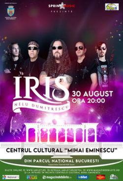 Concert Iris - Nelu Dumitrescu pe 30 august