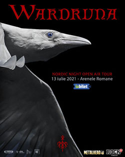 Wardruna canta pe 13 Iulie 2021 la Arenele Romane