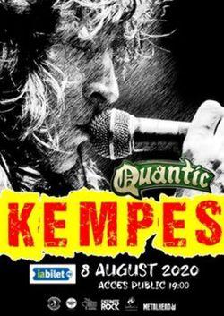 KEMPES canta pe 8 august in Club Quantic