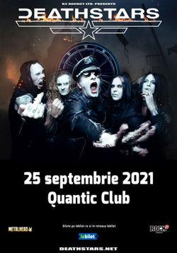 DEATHSTARS canta la Quantic Club pe 25 Septembrie 2021