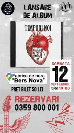 Concert Timpuri Noi - Lansare album Moldova Mon Amour