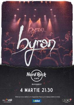 Concert byron pe 4 martie 2021