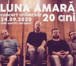 Timisoara: Luna Amara - concert aniversar 20 ani pe 24 septembrie