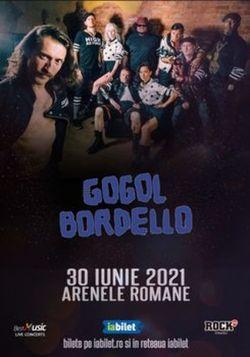 Concert Gogol Bordello la Bucuresti