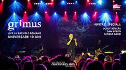 Concertul aniversar Grimus  10 ani de la Arenele Romane va avea premiera online pe Overground Showroom in noaptea de Anul Nou