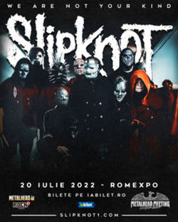 Concert Slipknot la Romexpo pe 20 iulie 2022