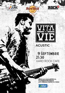 Concert Vita de Vie - Acustic pe 9 septembrie 2021