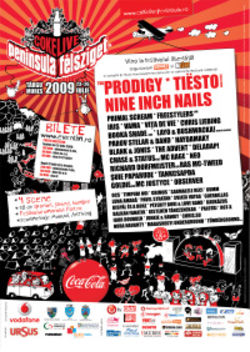 The Prodigy si Nine Inch Nails la Peninsula Coke Live 2009 (Update: Poze)