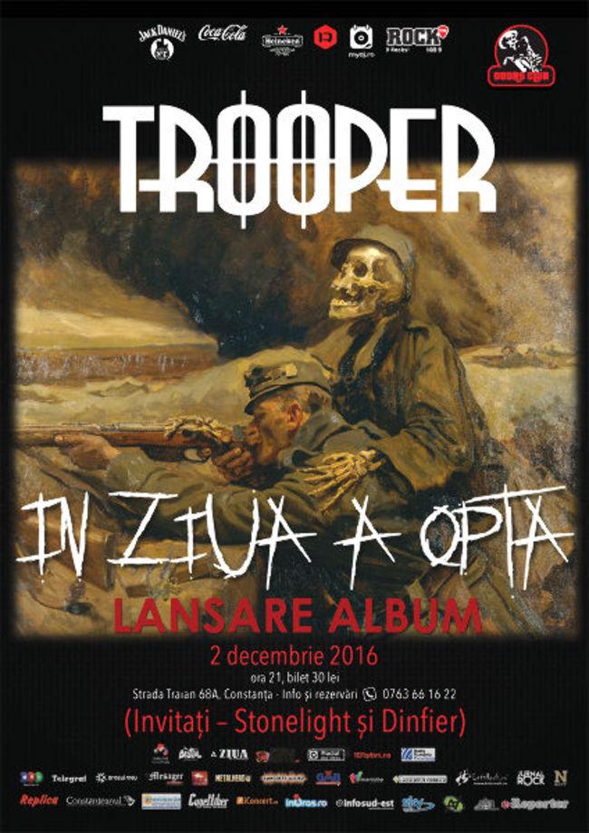 Trooper Lanseaza Albumul In Ziua A Opta Pe 2 Decembrie