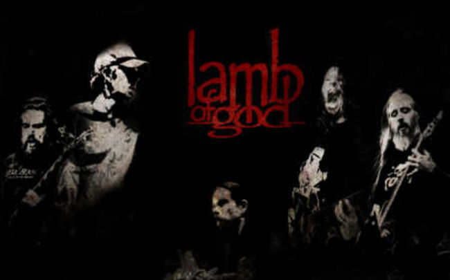 Poze Poze Lamb of God - live