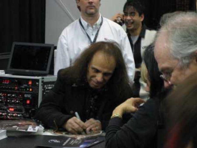 Poze Poze Dio - dio autographs