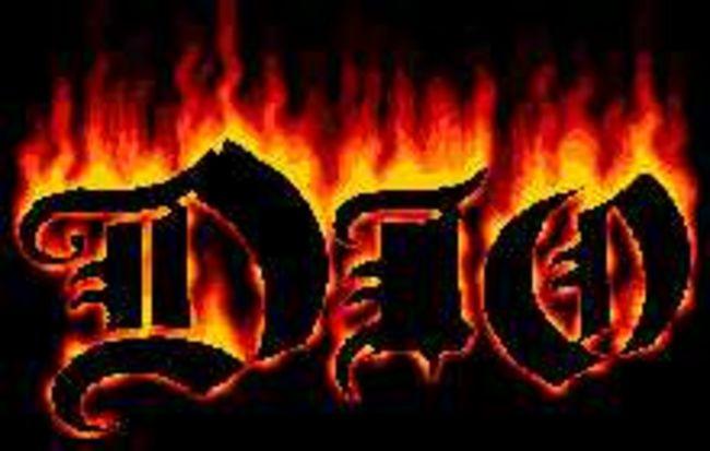 Poze Poze Dio - dio flame logo