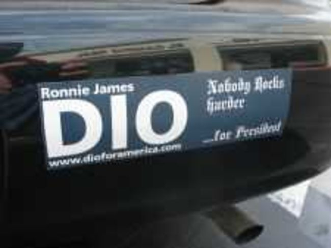 Poze Poze Dio - ronnie james dio for president