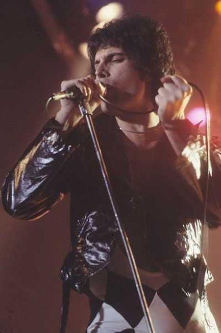 Poze Poze Queen - Freddie rocking