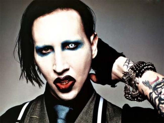 Poze Poze Marilyn Manson - x