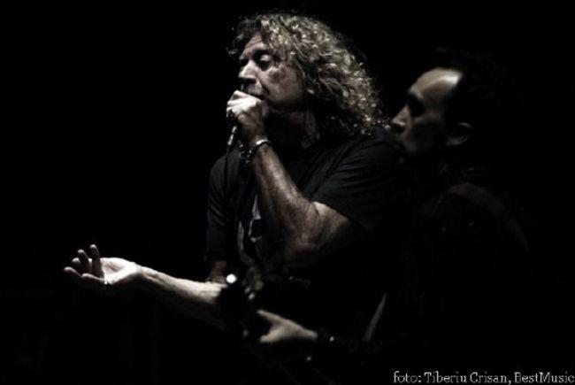 Poze Poze Robert Plant - robert plant live bucharest