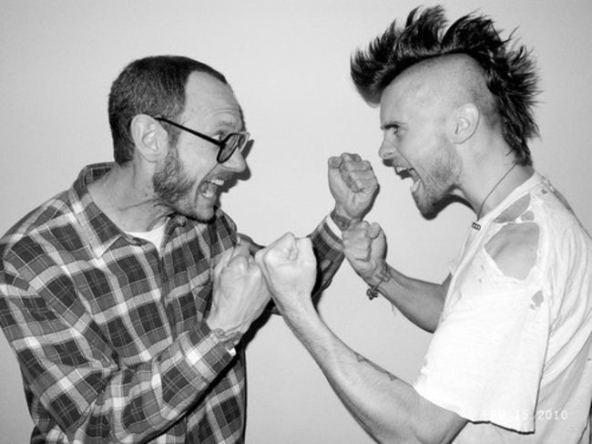 Poze Poze 30 Seconds to Mars - Jared Leto impreuna cu Terry Richardson