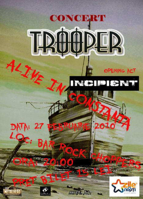 Poze Poze Incipient - Concert Trooper si Incipient