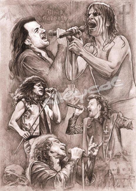 Poze Poze Black Sabbath - Sabbath vocals