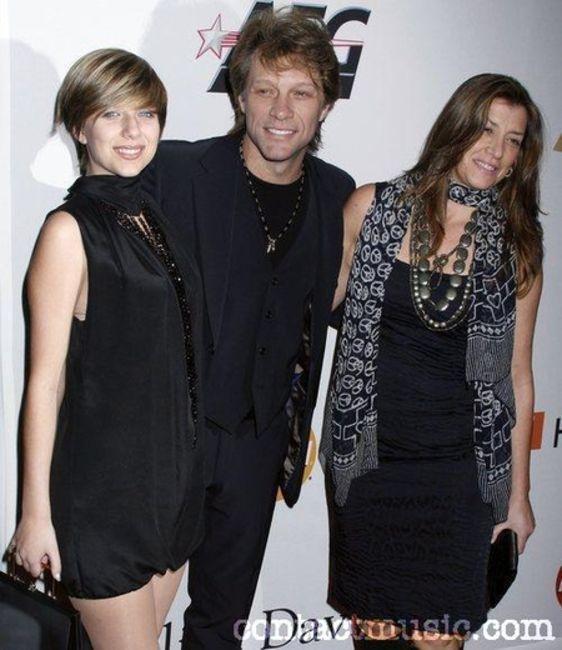 Poze Poze Bon Jovi - jon bon jovi & family