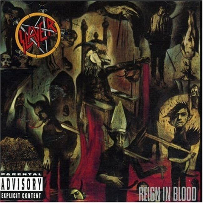 Poze Poze Slayer - Slayer (reign in blood)