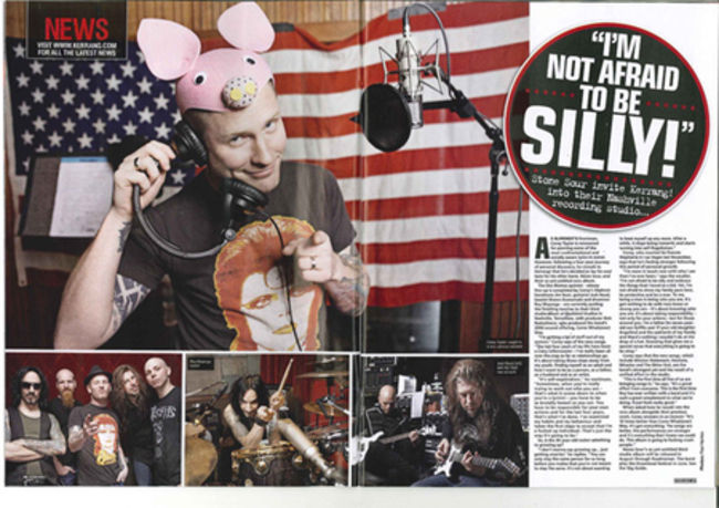 Poze Poze Stone Sour - Stone Sour in Kerrang