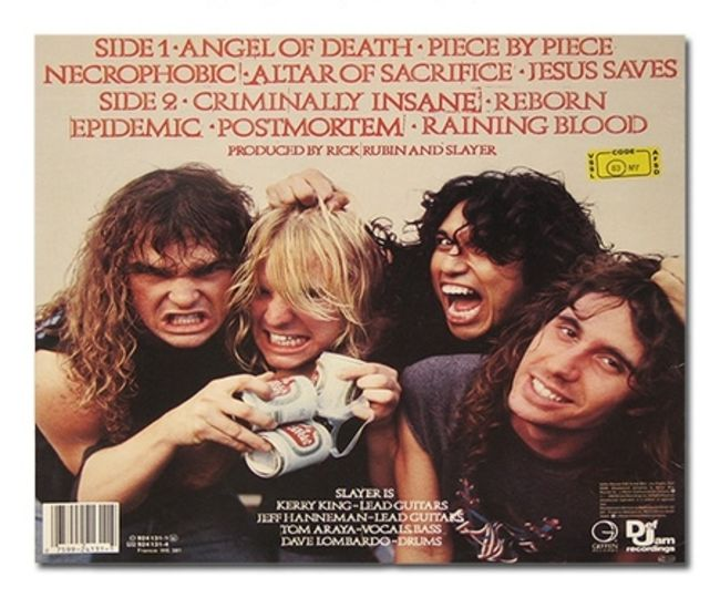 Poze Poze Slayer - reign in blood