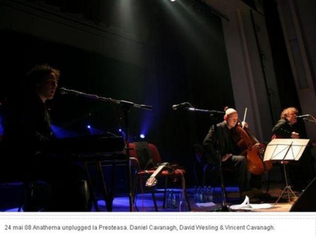 Poze Poze Anathema - Anathema, 24 mai 08, Preoteasa, unplugged