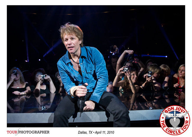Poze Poze Bon Jovi - Dallas,TX,April 11,2010