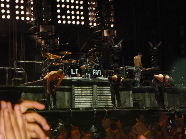Poze Concert Rammstein in Romania (User Foto) - Si noi va multumim, Rammstein!