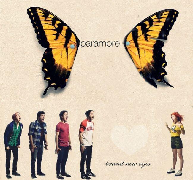 Poze Poze Paramore - Paramore Brand New Eyes