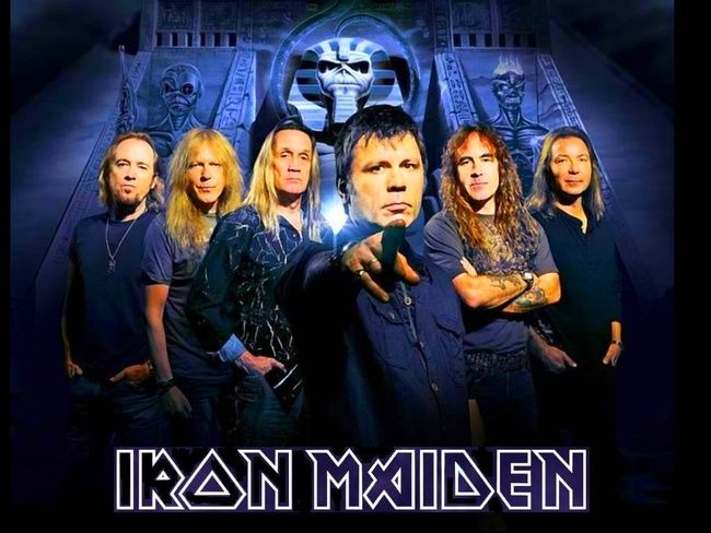 iron maiden (айрон мэйден) the book of souls