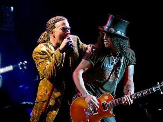 Poze Poze Guns N Roses - Axl&Slash