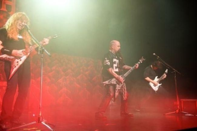 Poze Poze Slayer - Kerry King cu Megadeth