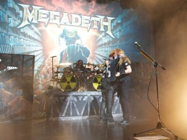 Poze Poze Slayer - Kerry King cu Megadeth