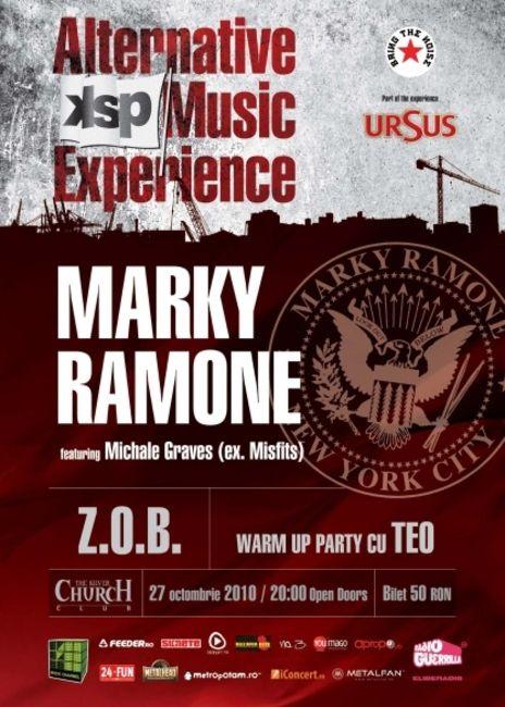 Poze Poze Ramones - Concert Marky Ramone la Bucuresti 2010