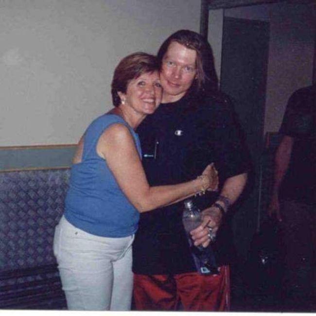 Poze Poze Guns N Roses - Axl Rose si Amy bailey(sora sa) in 2001