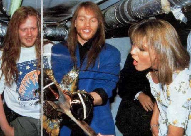 Poze Poze Guns N Roses - Axl Rose,Stuart Bailey si Amy Bailey(fratii sai)
