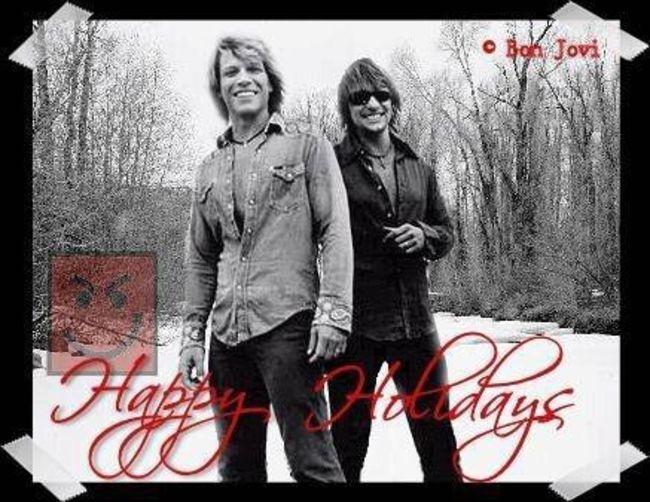 Poze Poze Bon Jovi - jon and richie xmas