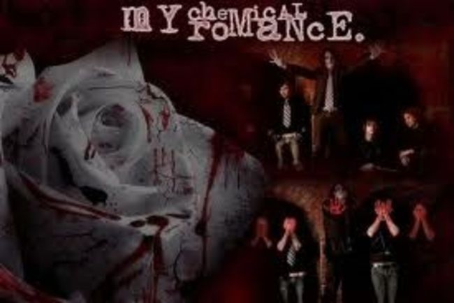 Poze Poze My Chemical Romance - blood