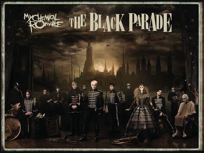 Poze Poze My Chemical Romance - black parade <3