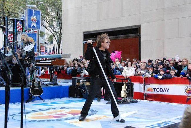 Poze Poze Bon Jovi - The Today Show NYC